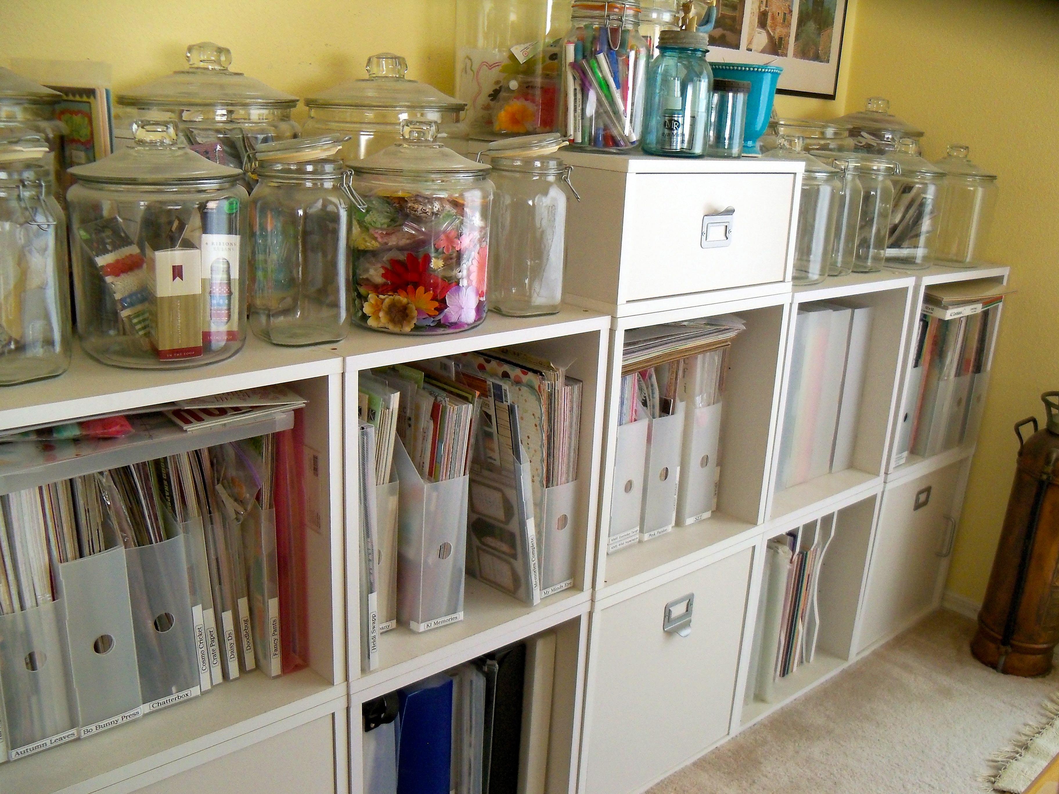 Scrapbook Room Organization Scrapbook Obsession